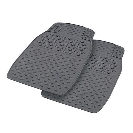 【YARK】行家精緻型踏墊 前座 (二入) 灰色