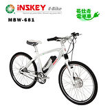 iNSKEY 電單車 SHIMANO 26吋8段內變速 登山車【iSport】 城市多功能 電動輔助自行車 登山車