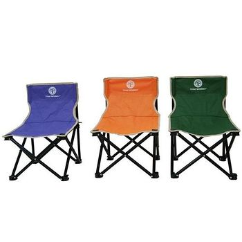 TreeWalker 輕巧牛津折疊椅 休閒椅/烤肉椅/附背袋-3色 36x36x52cm