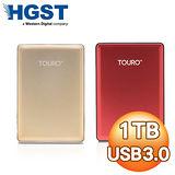 HGST Touro S 1TB 2.5吋 USB3.0 外接式硬碟《聖誕紅/聖誕金 雙色任選》