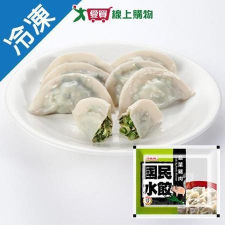 龍鳳冷凍國民水餃-韭菜豬肉