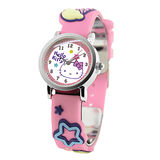 Hello Kitty 歡樂星球立體俏麗腕錶-粉紅
