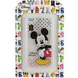 【Disney】Apple iPhone 6 (4.7吋) 彩繪透明保護軟套-米奇