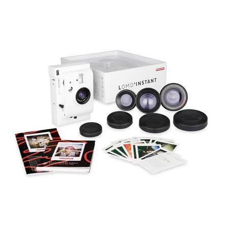 Lomography Lomo Instant +3 鏡頭組 拍立得相機 白色 公司貨