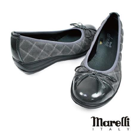 【marelli】donna灰色拼接淑女鞋(22400-DGY)