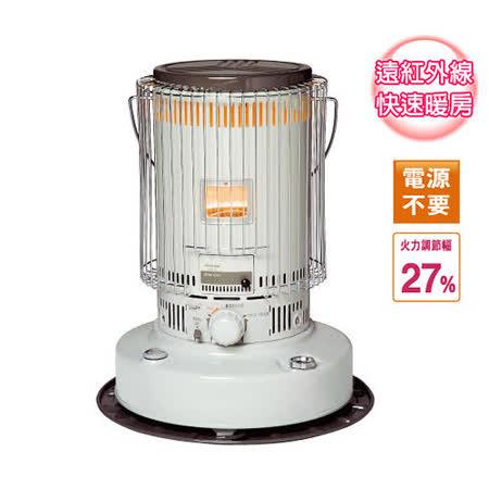 【日本 TOYOTOMI】KS-67H 傳統型煤油爐