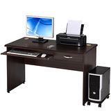 邏爵家具-功能兩實用電腦辦公桌/書桌(附主機架)