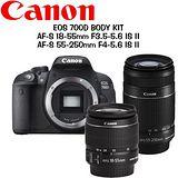 《CANON+TAMRON》700D+18-55mm STM+TAMRON SP 70-300mm F4-5.6 Di VCUSD A005 (公司貨)★送32G高速記憶卡豪華大全配