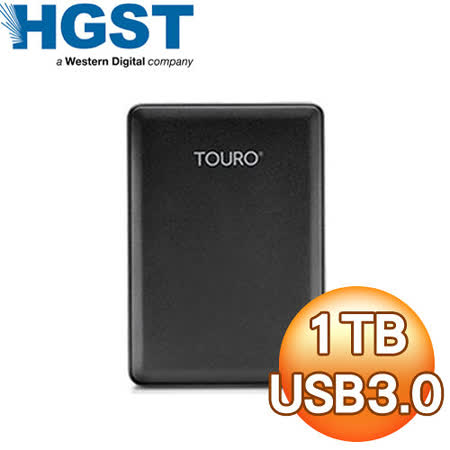 HGST Touro Mobile Reflash 1TB 2.5吋 USB3.0 外接式硬碟(輕薄版)