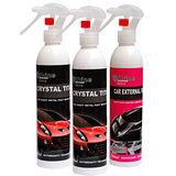 iShine閃亮先生 汽車鈦合晶200ml-2入+洗車速潔劑200ml