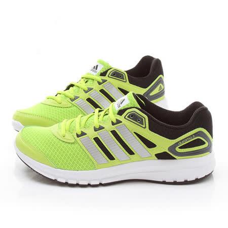 Adidas 男款 Duramo 6 M輕量慢跑鞋F32233-黃綠