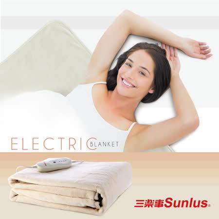Sunlus單人雅緻電熱毯SP2401WH