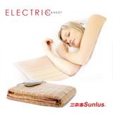 Sunlus穿披蓋鋪舒柔電熱毯SP2402GR