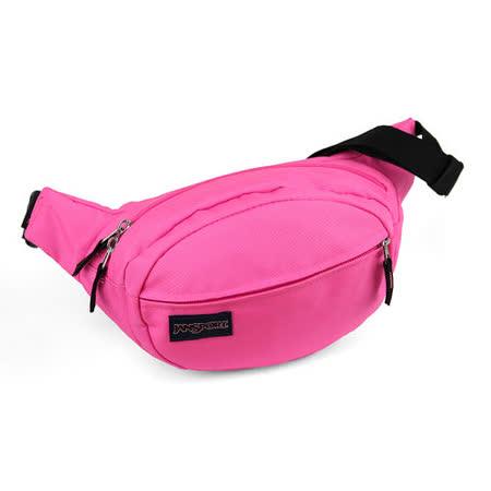 JanSport 休閒背包(FIFTH AVE )-螢光粉紅
