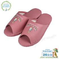【クロワッサン科羅沙】Peter Rabbit 室內鞋 小花皮拖 藍28CM