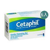 Cetaphil 舒特膚 溫和潔膚凝脂 127g 六入家庭組