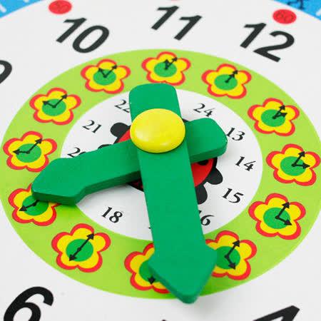 【funKids】 木製-多合一啟蒙教育時鐘