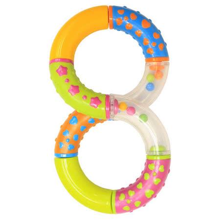 【部落客推薦】gohappy快樂購物網任選-Lucky Baby 搖鈴玩具-8字型評價好嗎遠東 百貨 台北