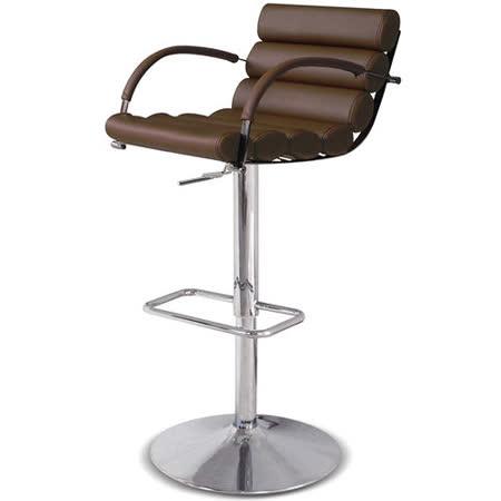 【椅吧】義式實用設計咖啡色吧檯椅