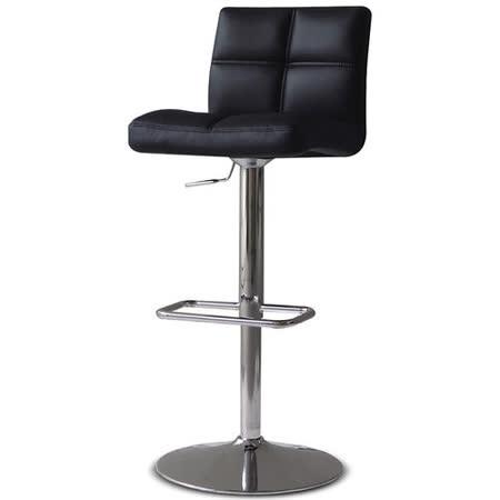 【椅吧】極簡現代設計吧檯椅(兩色可選)