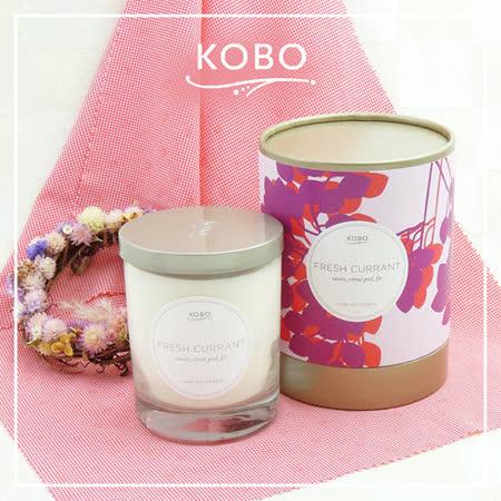 【KOBO】美國大豆精油蠟燭 - 清新醋葡萄 (330g/可燃燒80hr)