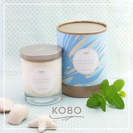 【KOBO】美國大豆精油蠟燭 - 冰涼薄荷 (330g/可燃燒80hr)