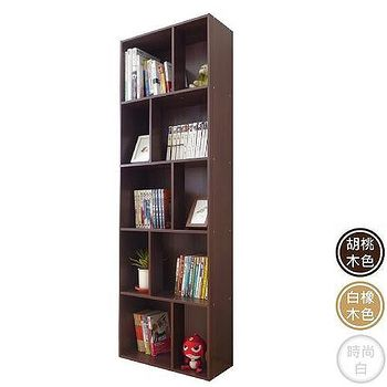 HOPMA 多功能五層書櫃-三色可選(G-T500LI/ G-T500BR/G-T500WH)