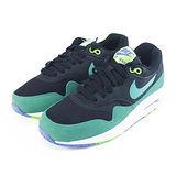 (女)NIKE WMNS AIR MAX 1 ESSENTIAL 休閒鞋 黑/綠/紫-599820014