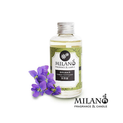 Milano經典法國香氛精油擴香單瓶組(紫羅蘭)