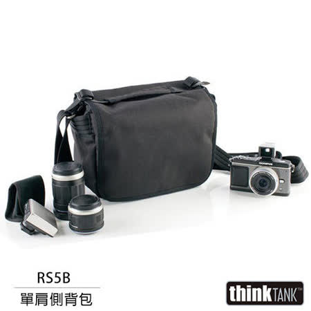 【結帳再折扣】thinkTank 創意坦克 Retrospective 5 側背包(RS5B,黑色)