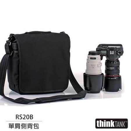 【結帳再折扣】thinkTank 創意坦克 Retrospective 20 側背包(RS20B,黑色)