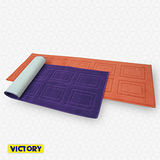 【VICTORY】110cm長形繽紛地墊