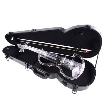 ★集樂城樂器★JYC SV-300水晶靜音提琴(藍光/自動換色)~展示品出清 無琴馬/琴盒