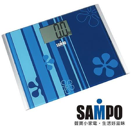 【SAMPO聲寶】大螢幕視窗體重計(BF-L1105ML)