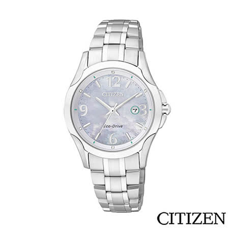 CITIZEN Eco-Drive 小資女時尚腕錶 EW1780-51A