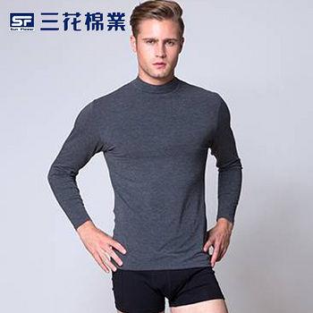 三花科技急暖輕著男高領衫 (M~XL)