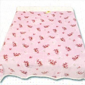 名流寢飾 點點玫瑰情超柔長毛毯 180*230cm
