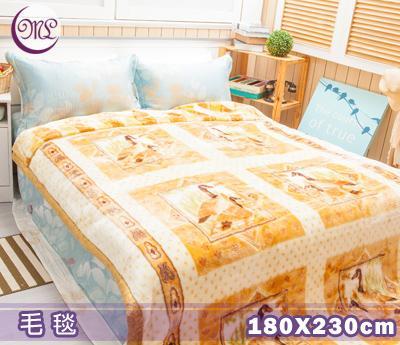 名流寢飾 群雁呈祥日本超極細合纖毛毯 180*230cm