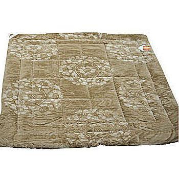 名流寢飾 繡球雕花超柔毛毯被 180*210cm