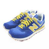 (男女)NEW BALANCE 復古鞋 藍/黃-ML574VBY
