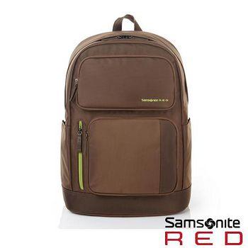 Samsonite RED 金秀賢代言 CULMEN 系列電腦後背包 -咖啡