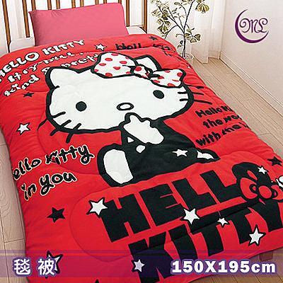 名流寢飾 Hello Kitty我就是時尚毛毯被 150*195cm