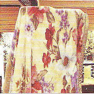 名流寢飾 花彩宇宙日本精製毛毯 180*230cm