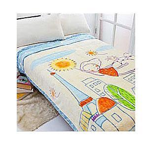 名流寢飾 摩登都市極細纖維毛毯 150*200cm