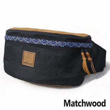 MATCHWOOD 民族風 圖騰系列 腰包 -藍色