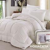 《HOYACASA》雙人超熱感發熱羊毛暖暖被
