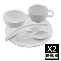 【歐喜廚】OSICHEF 兒童餐具五件組 (2組)