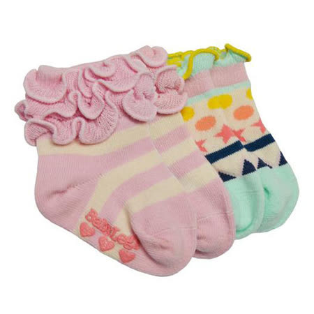 美國 BabyLegs 有機棉嬰幼兒小襪子(新古典幾何)