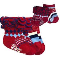 美國 BabyLegs 嬰幼兒小襪子(歡樂小紅)