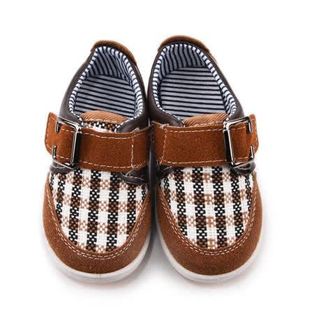 童鞋城堡-日本娃娃 中小童 小紳士休閒鞋661-咖